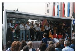 Clarks Bar jazz float, Jazz Festival 1987