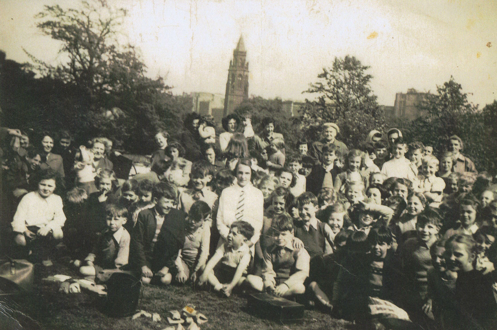 Dean School Sports Day held at the Dean Orphanage Playing Fields, Belford Road.