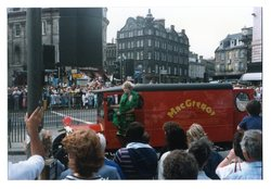 MacGregor glass and china shop jazz float, Jazz Festival 1987