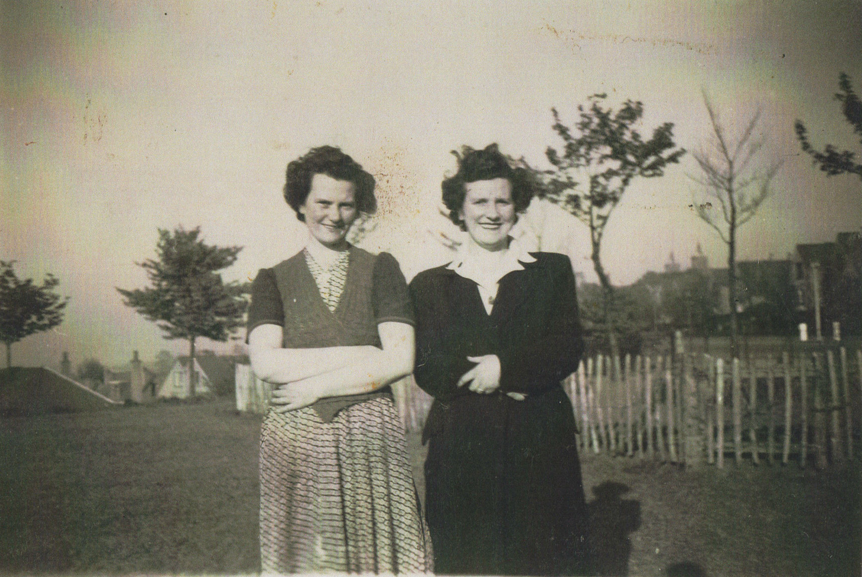 Mamie Johnston of  Well Court & Mum at Queensferry Park.