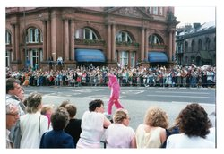 Pink Panther at the Jazz Festival Parade