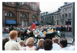 open carriage in Jazz Festival Parade 1987
