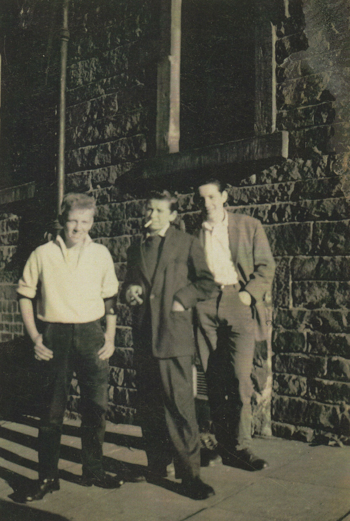 57 The boys outside my 33 Dean Path were David Clabby, Henry Marshall, and Edward Nolan,
