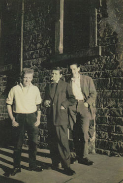 The boys outside my 33 Dean Path Tenement were David Clabby, Henry Marshall, and Edward Nolan,