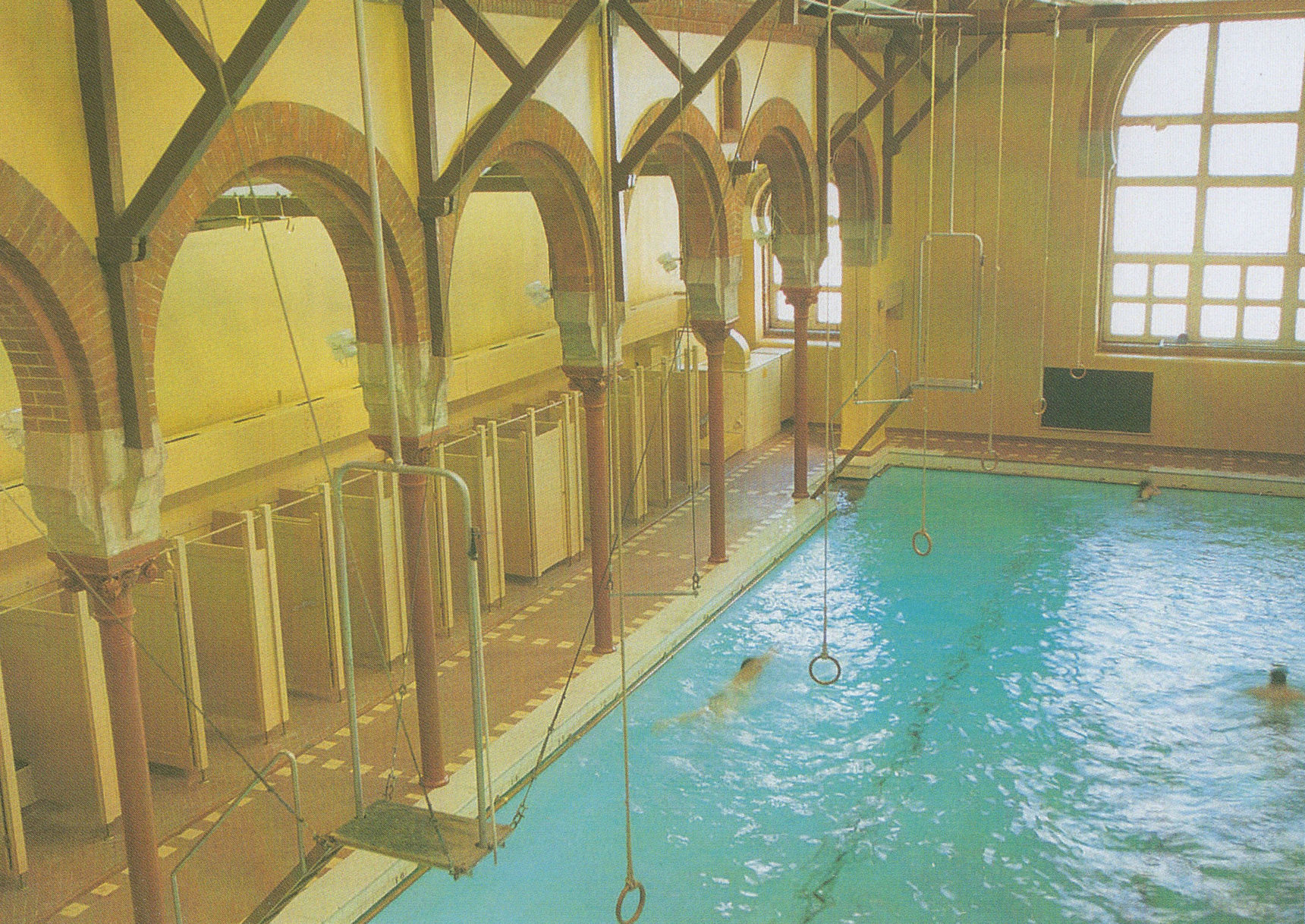 Drumsheugh Baths is situated on a steep site overlooking the Dean Village.