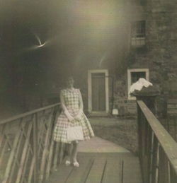 Me pictured on the Wooden Bridge.