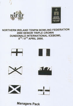 "I represented Scotland in the ""Dundonald International Ice Bowl Competition"" in Belfast Northern Ireland."
