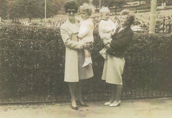 A day Out with my Mum and the twins in Princes Street Gardens.