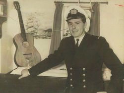 My fiance Robert Haldane was in the Merchant Navy.