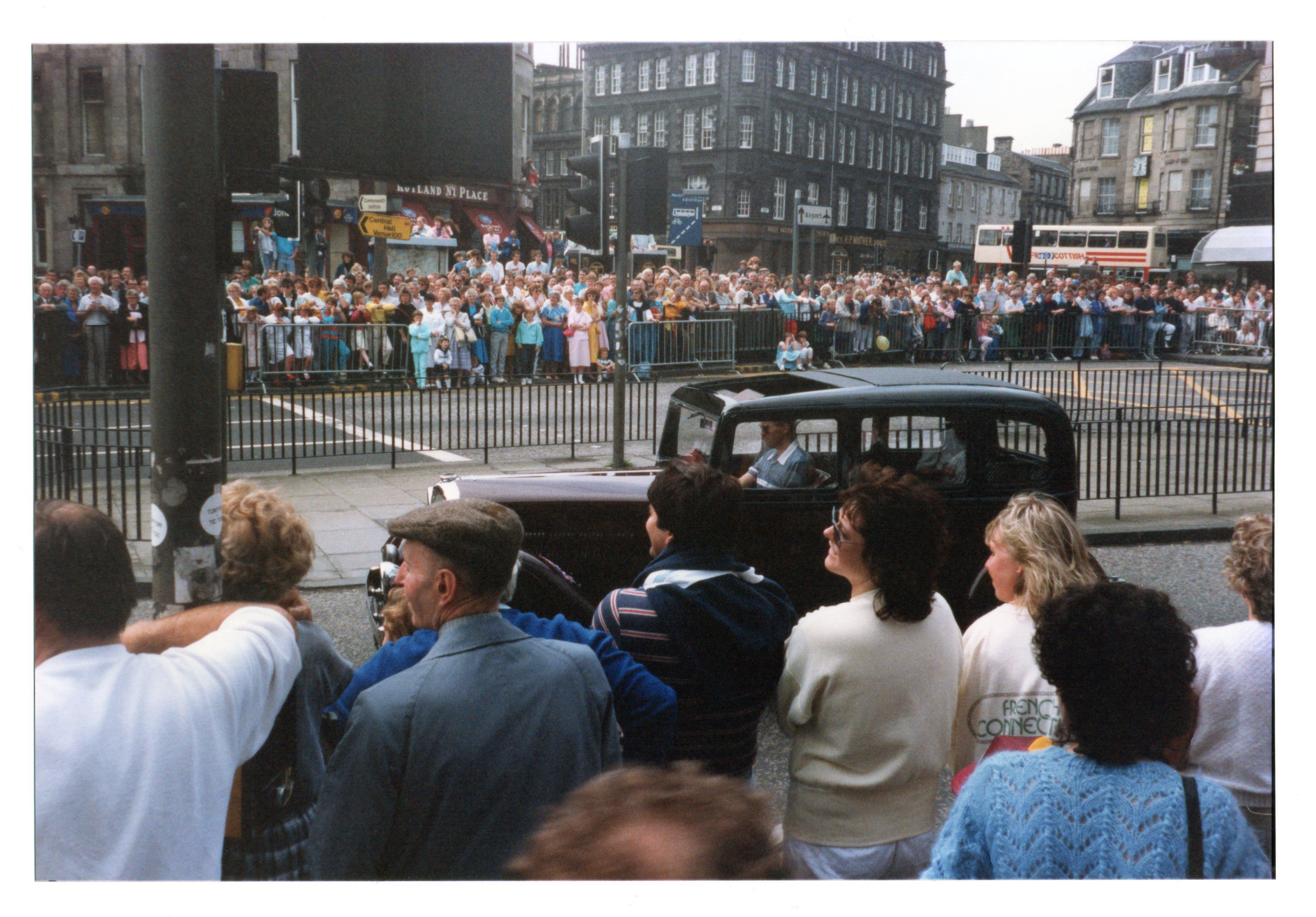 Vintage car, Jazz Festival Parade 1987