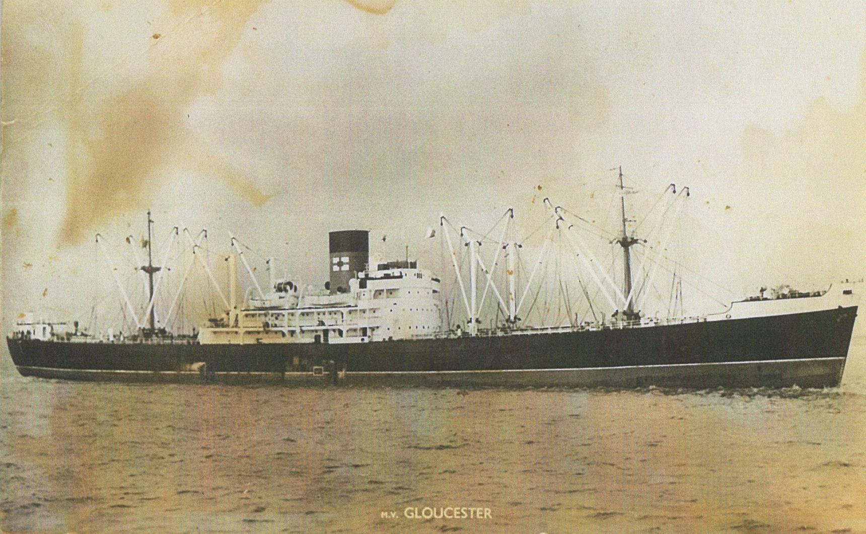 62 - M. V. GLOUCESTER