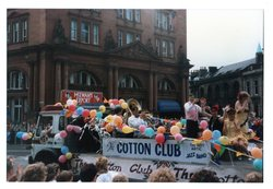 Cotton Club float - Hot Antic Jazz Band Jazz Festival Parade 1987