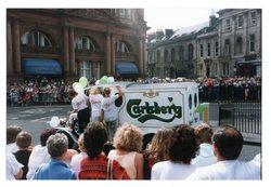Carlsberg van, Jazz Festival Parade 1987