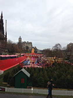 Christmas Festival in Princes Street Gardens