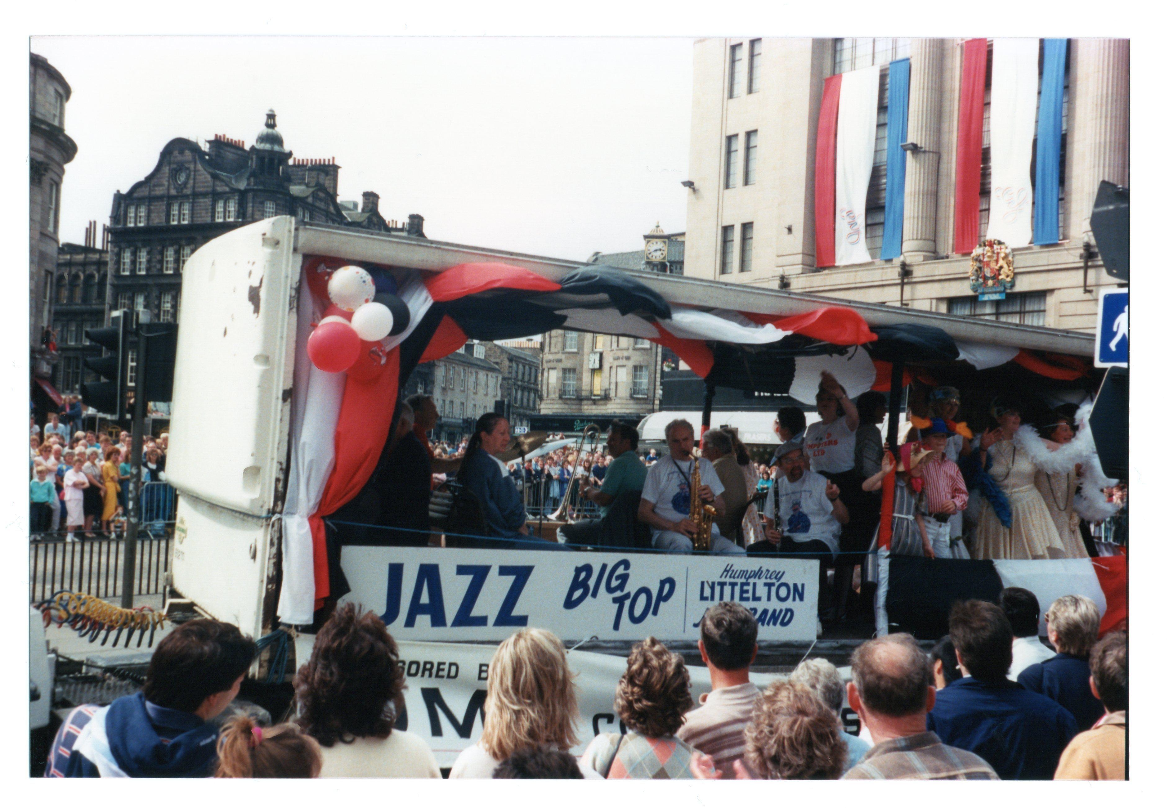 Jazz Big Top - Humphrey Littlelton Band Jazz Festival Parade 1987