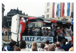 Jazz Big Top - Humphrey Littlelton Band Jazz Festival Parade 1987
