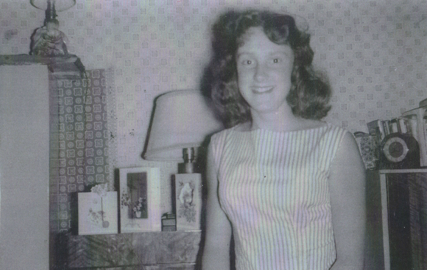 59 - Me pictured in my Home on my 15th Birthday at Dean Path.