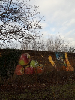 Graffiti art, Leith Links