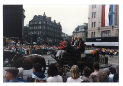 horse drawn carriage, Jazz Festival Parade 1987