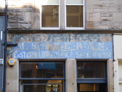 Edinburgh Ghost Signs - St Mary's Street