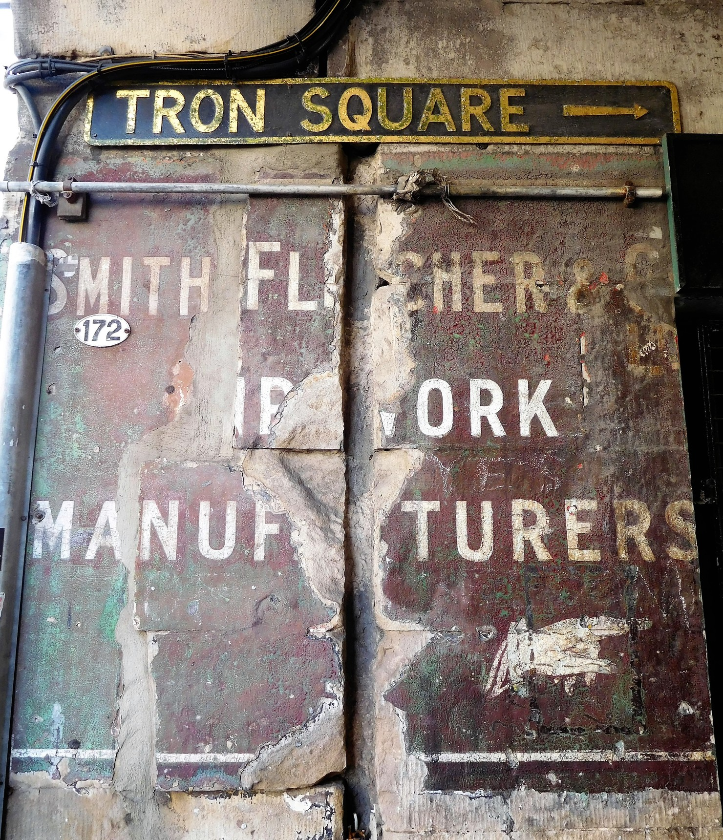 Edinburgh Ghost Signs - Old Assembly Close