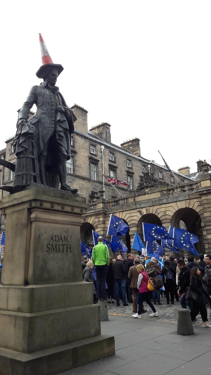 Pro- EU demonstration, City Chambers