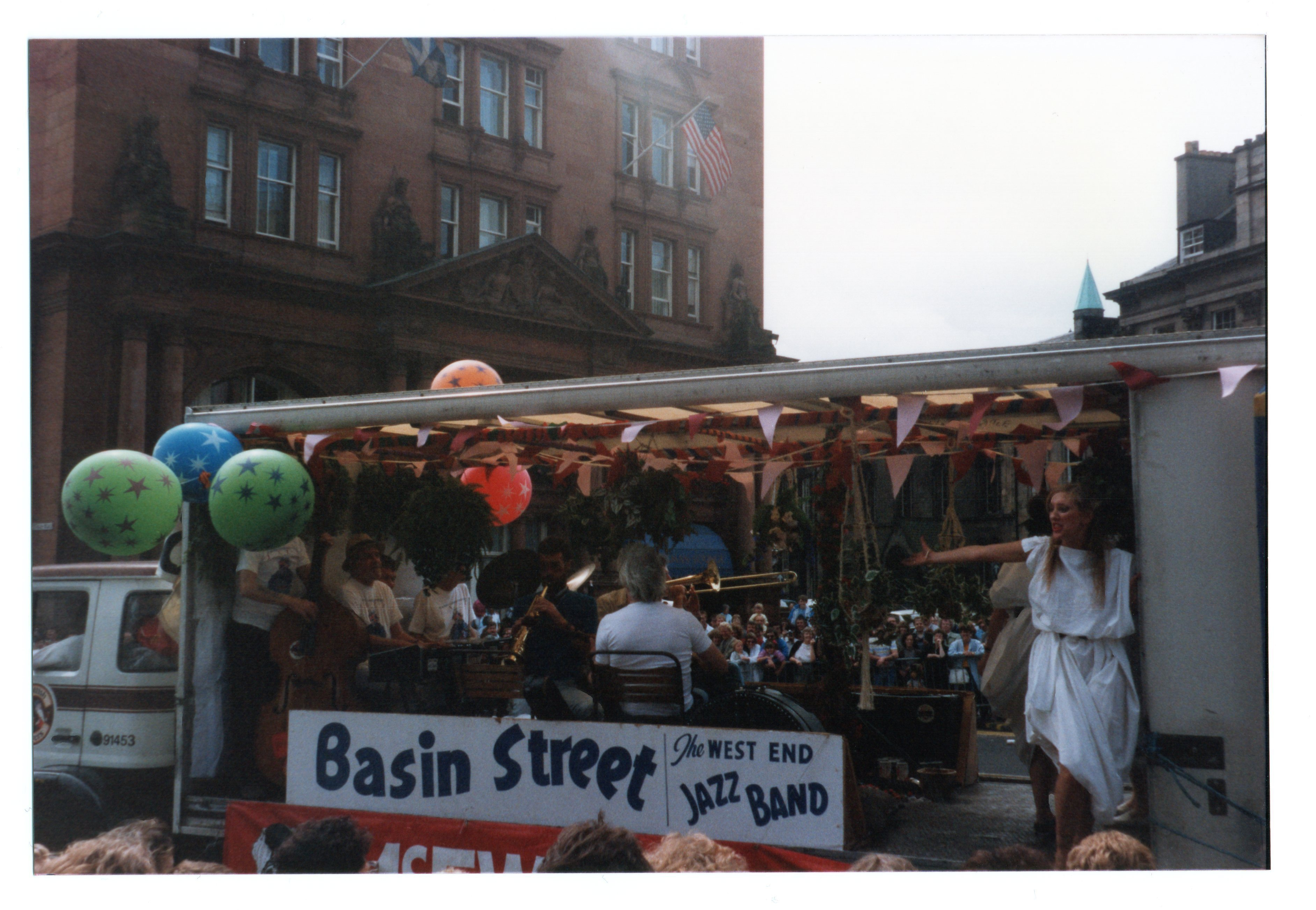 Basin Street - the West End Jazz Band  Jazz Festival Parade 1987
