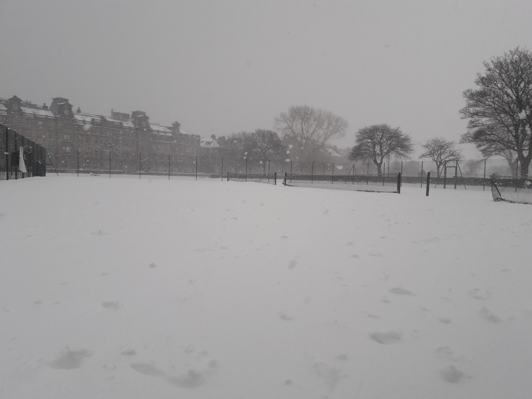 Tennis courts, Leith Links