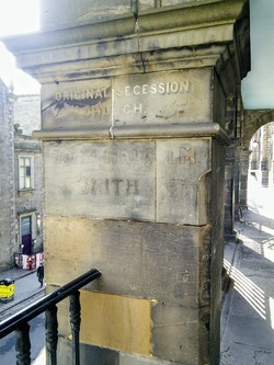 Edinburgh Ghost Signs - Victoria Terrace