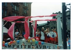 Amphitheatre float - Jazz Festival Parade 1987