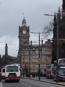 Maintenance on the Balmoral Hotel