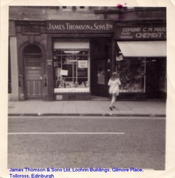 James Thomson & Son Ltd before it closed down in 1971