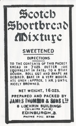 James Thomson & Son Ltd Shortbread Mixture