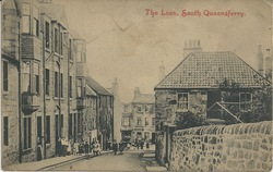 Postcard showing Trafalgar Cottage, The Loan, South Queensferry
