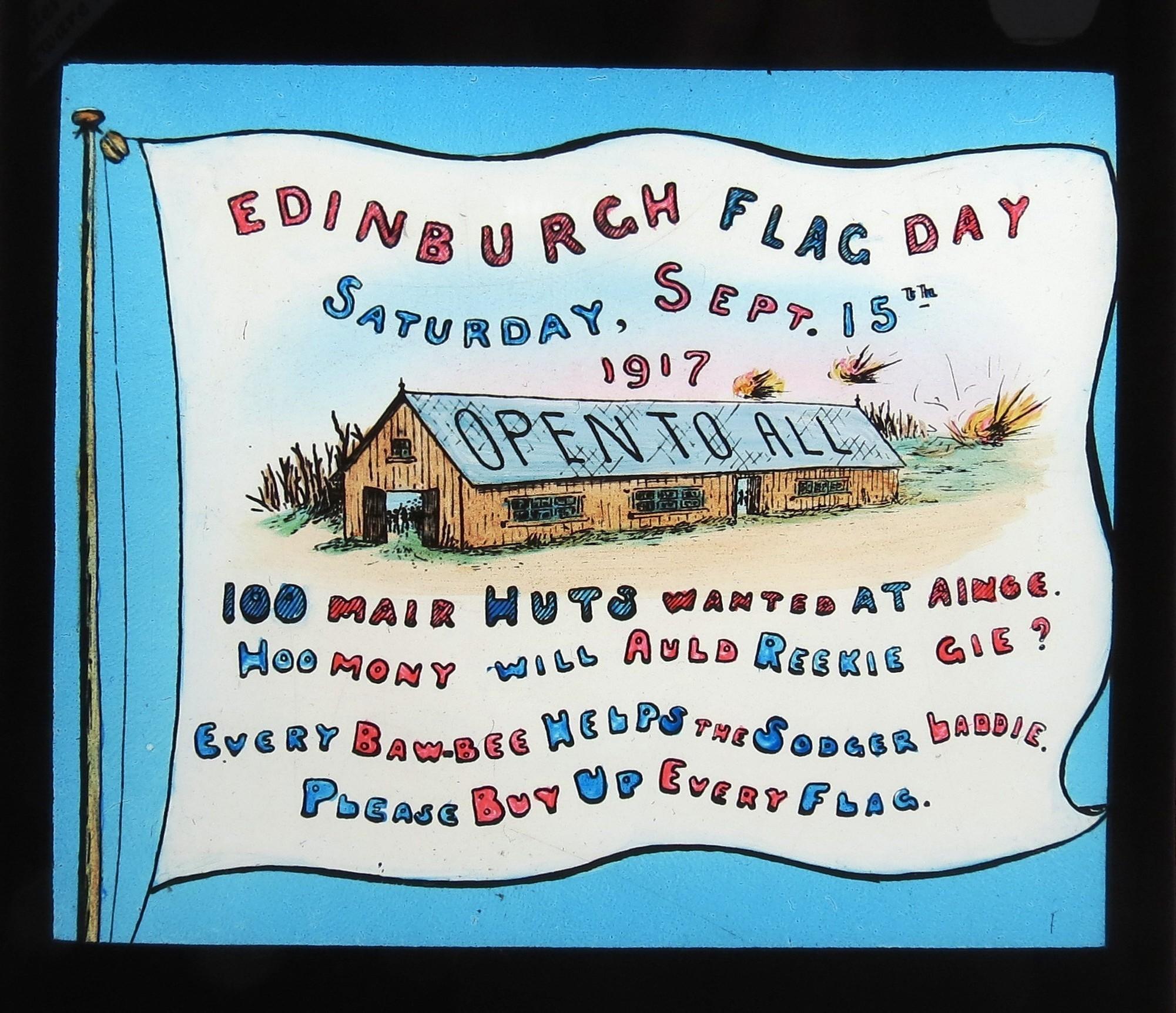 Edinburgh Flag Day 1917