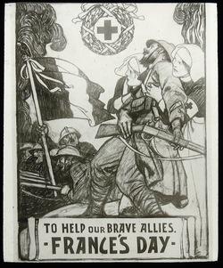 Help France Flag Day 1915