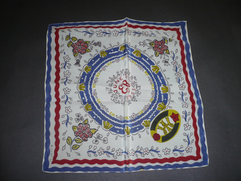 Coronation handkerchief