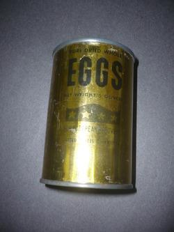 Dried eggs