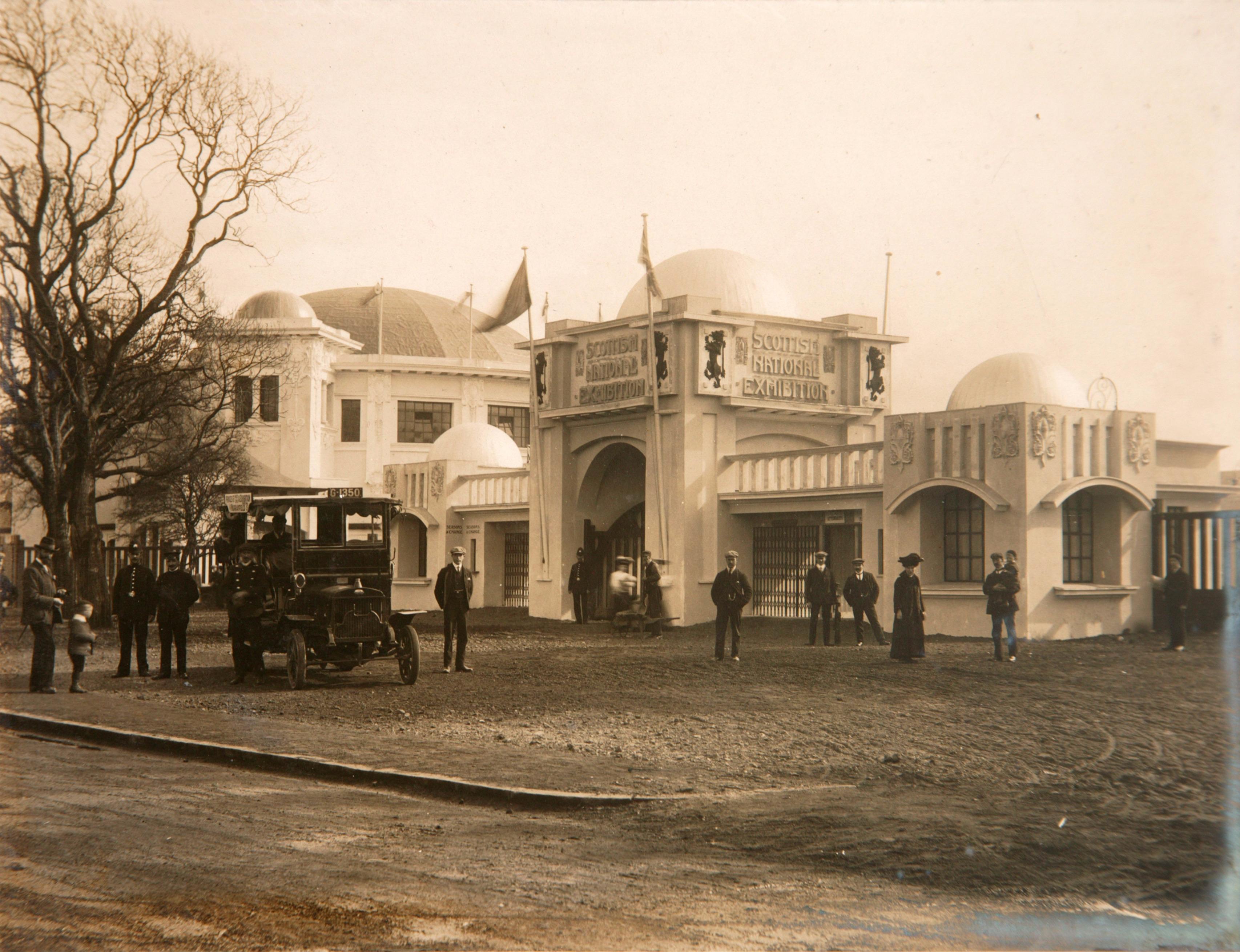 Scottish National Exhibition 1908 Entrance