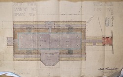 Scottish National Exhibition 1908, Winter Garden Floor Plan