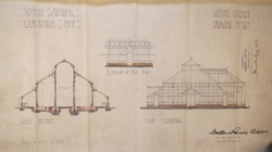 Scottish National Exhibition 1908, Winter Garden Elevation Plan