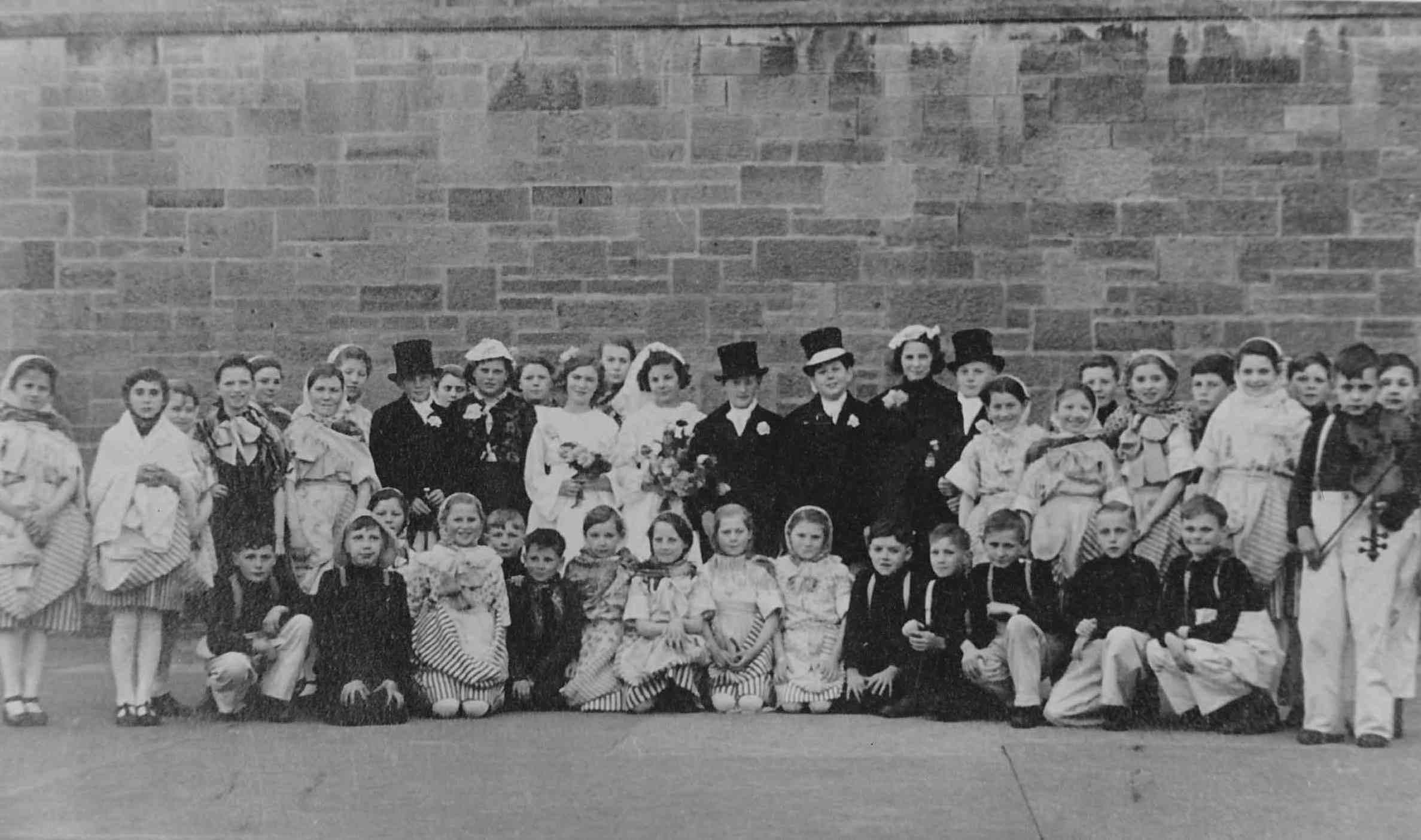 Victoria School Centenary Pagent, Newhaven