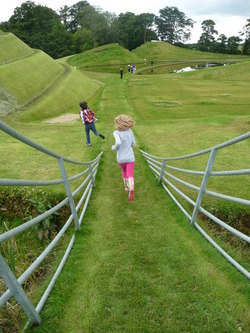 Fun at Jupiter Artland