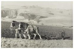 Ploughing at Liberton Tower Mains