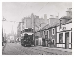Tramcar in Main Street, Newhaven