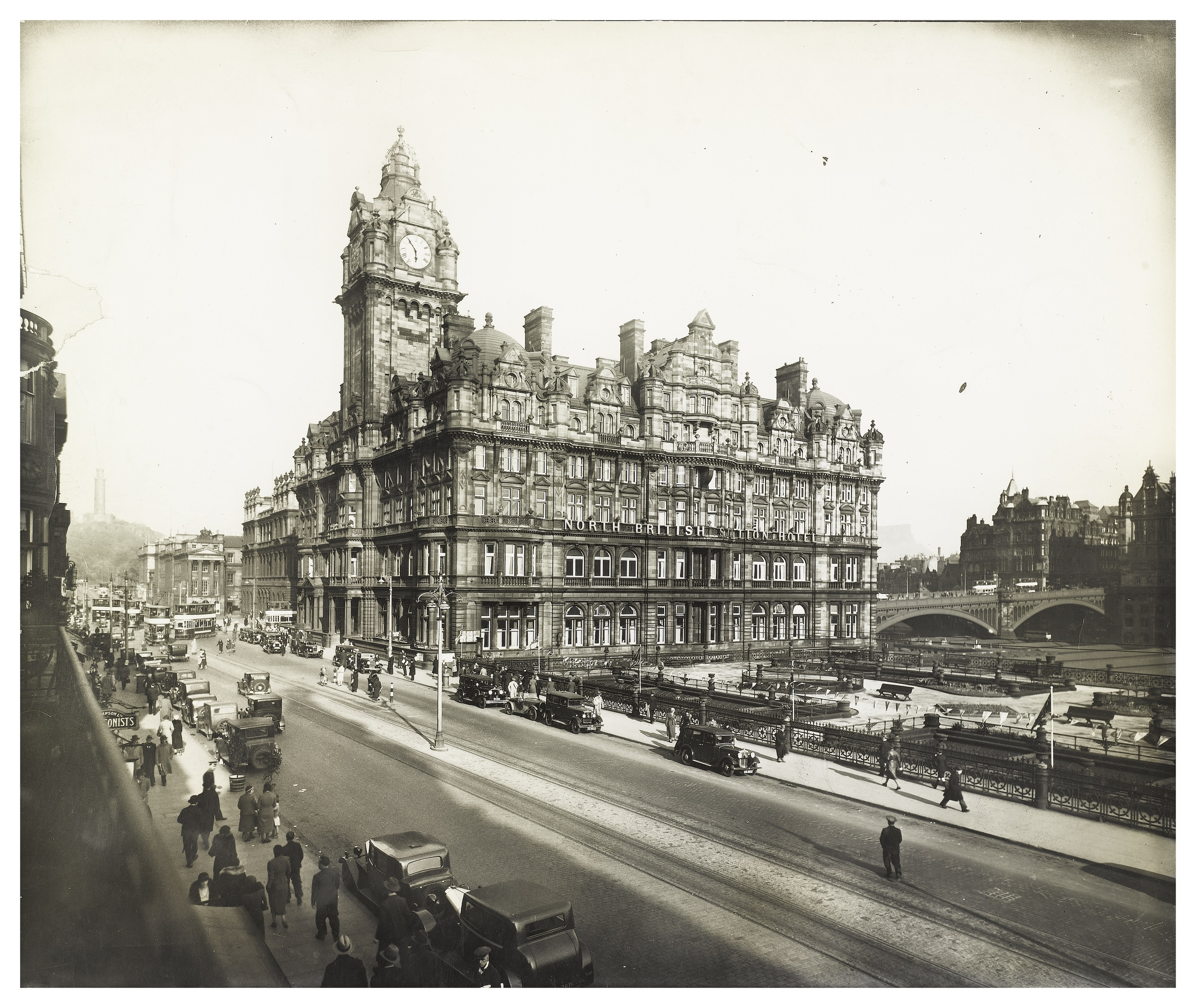 North British Station Hotel on Princes Street