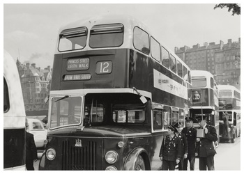 1950s Edinburgh