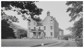 Prestonfield House - now & then
