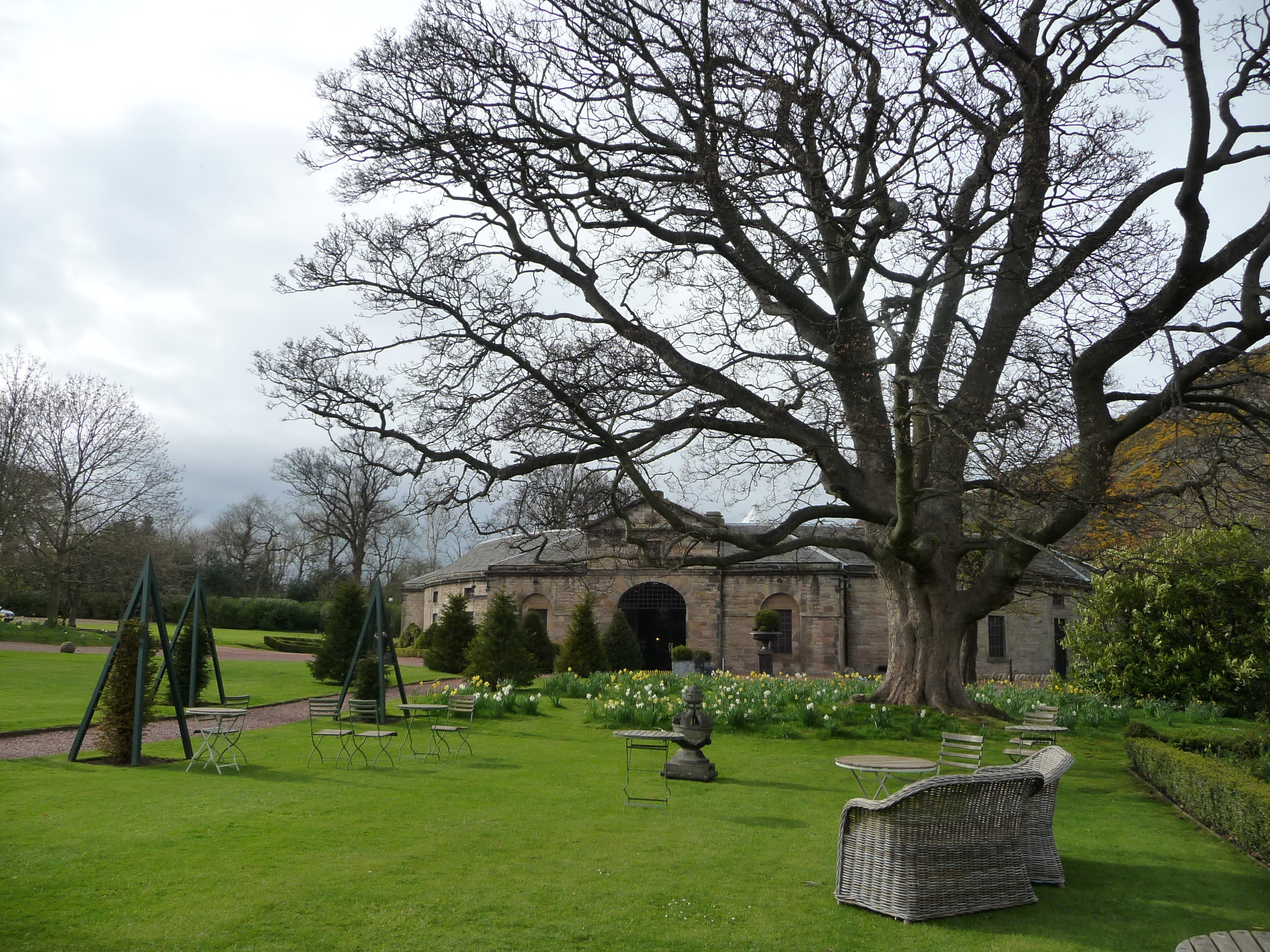 The stables at Prestonfield House