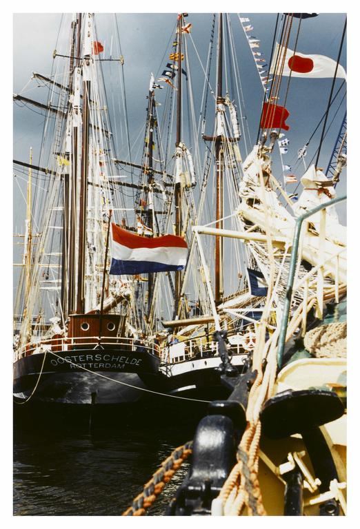 Tall Ships Race, Leith Docks, July 1995